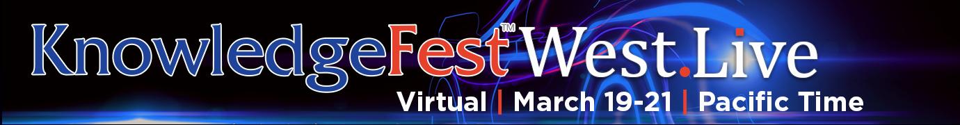 KnowledgeFest West Homepage